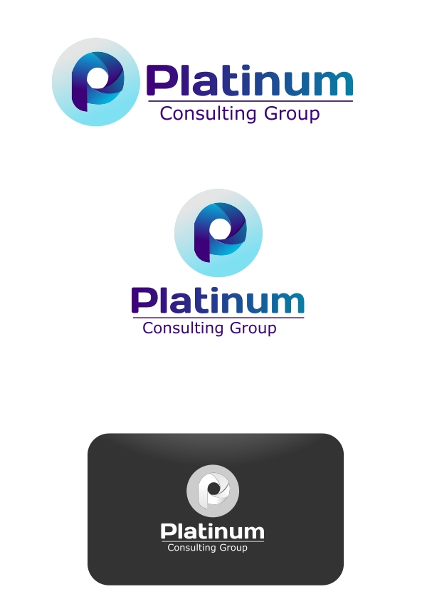 Logo Design by Private User - Entry No. 10 in the Logo Design Contest Captivating Logo Design for Platinum Consulting Group.