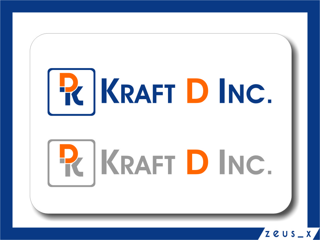 Logo Design by RasYa Muhammad Athaya - Entry No. 136 in the Logo Design Contest Unique Logo Design Wanted for Kraft D Inc.