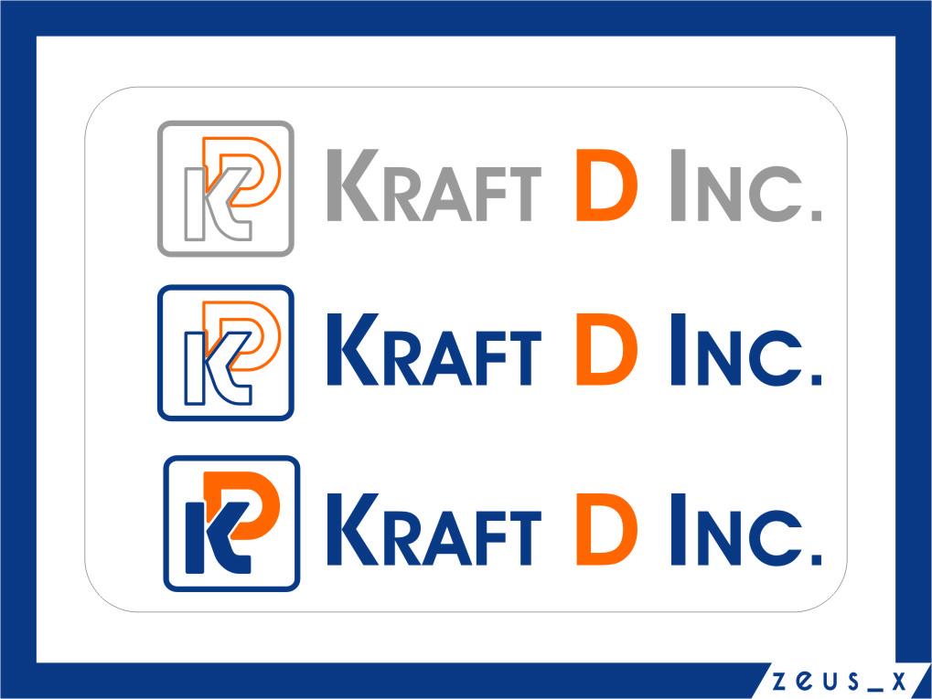 Logo Design by Ngepet_art - Entry No. 137 in the Logo Design Contest Unique Logo Design Wanted for Kraft D Inc.