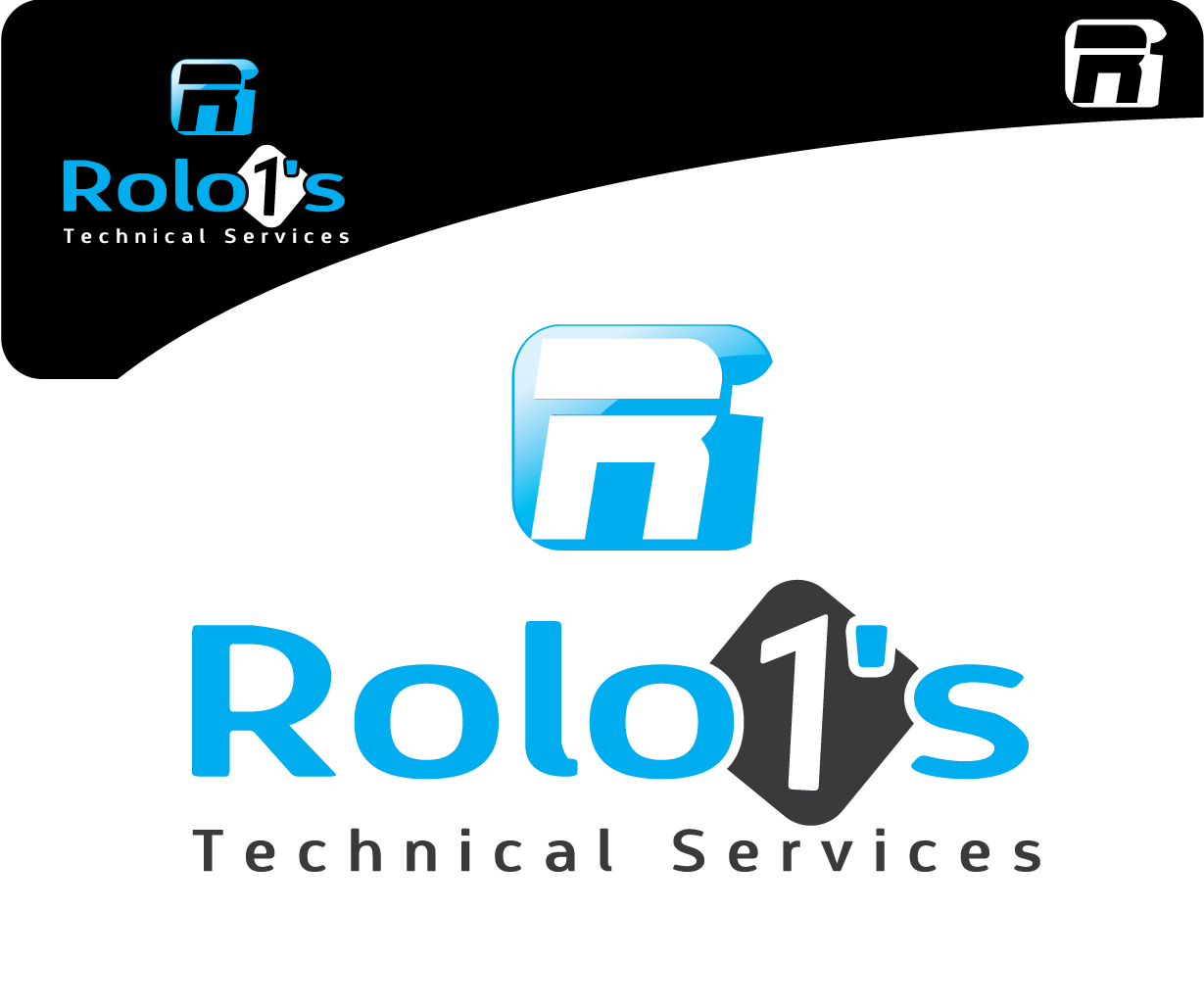 Logo Design by 354studio - Entry No. 49 in the Logo Design Contest Inspiring Logo Design for Rolo1's Technical Services.