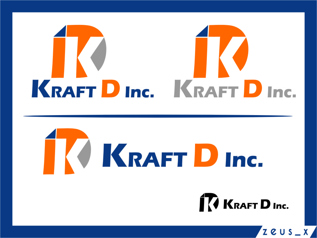 Logo Design by RoSyid Rono-Rene On Java - Entry No. 141 in the Logo Design Contest Unique Logo Design Wanted for Kraft D Inc.