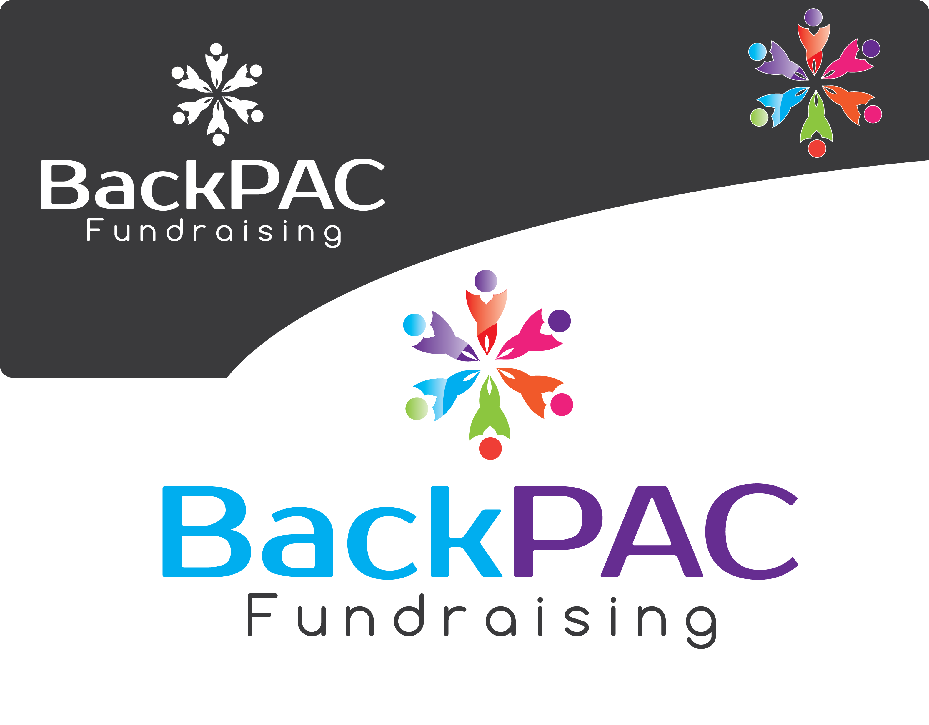 Logo Design by 354studio - Entry No. 44 in the Logo Design Contest Imaginative Logo Design for BackPAC Fundraising.