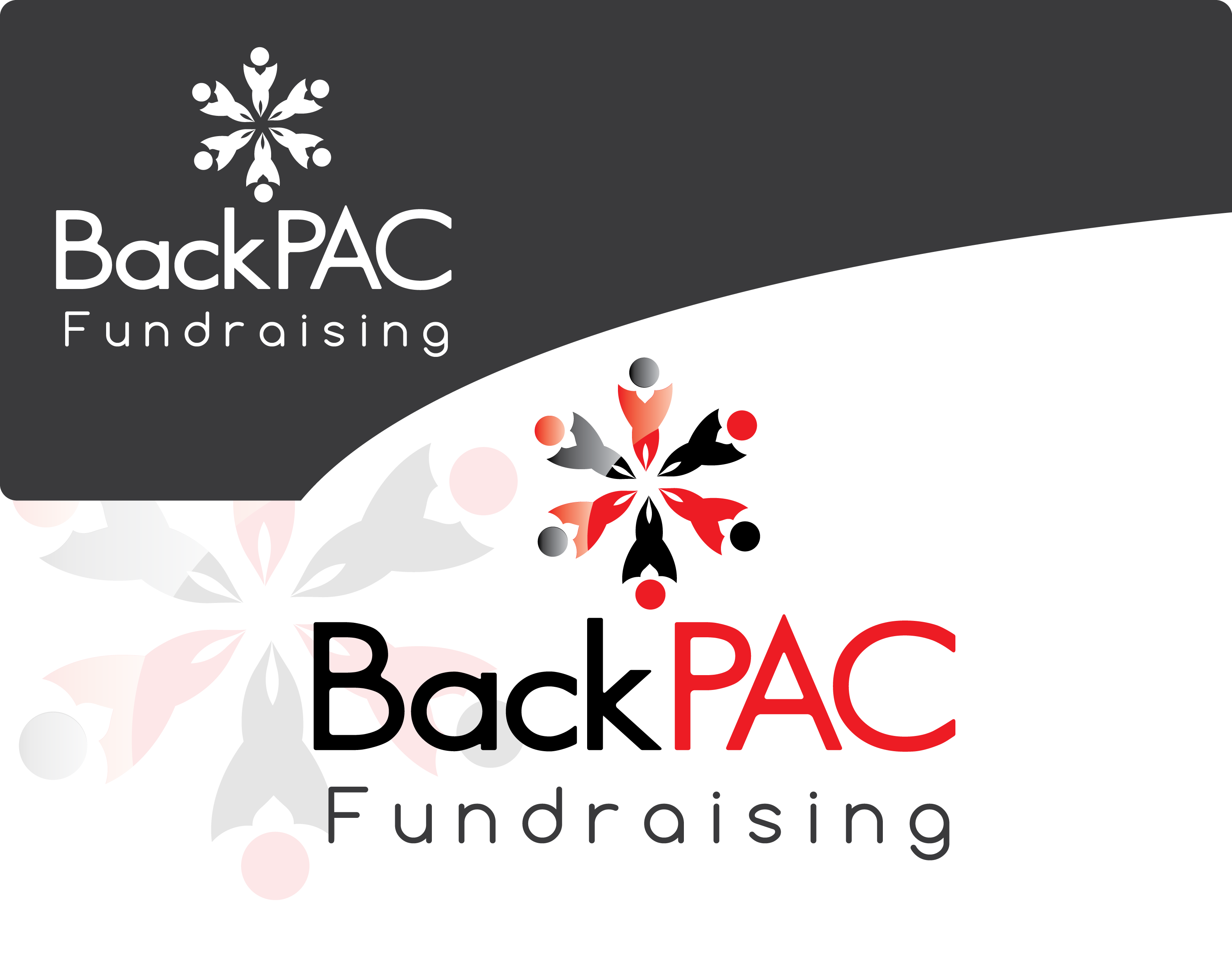 Logo Design by 354studio - Entry No. 45 in the Logo Design Contest Imaginative Logo Design for BackPAC Fundraising.