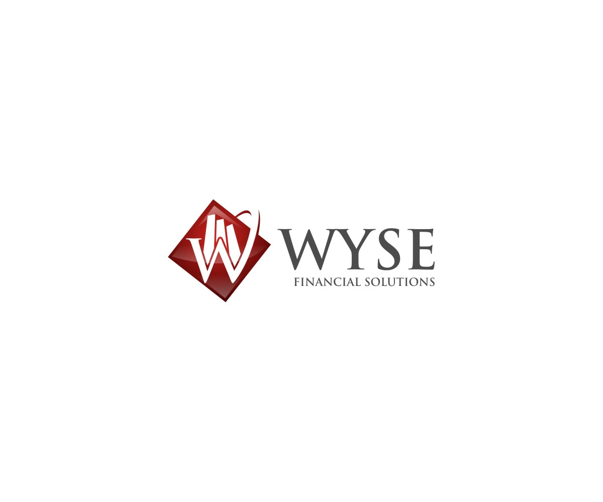 Logo Design by untung - Entry No. 51 in the Logo Design Contest Fun Logo Design for Wyse Financial Solutions.