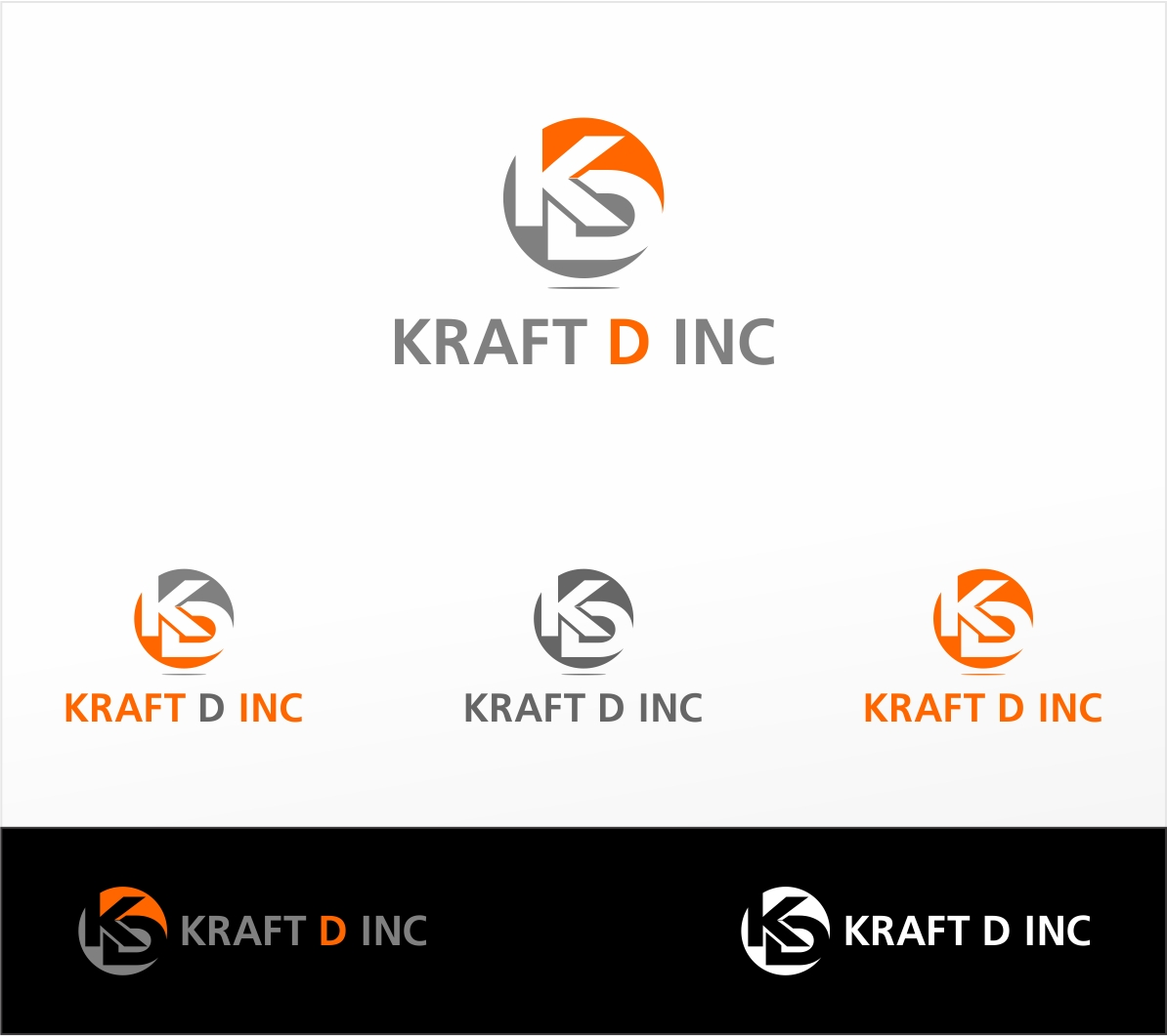 Logo Design by haidu - Entry No. 149 in the Logo Design Contest Unique Logo Design Wanted for Kraft D Inc.