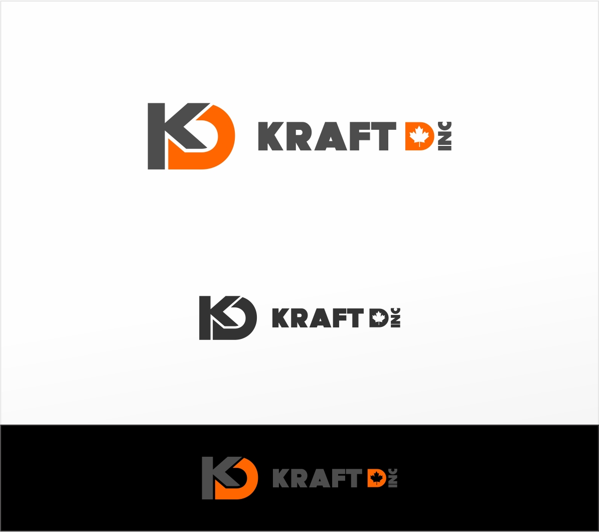 Logo Design by haidu - Entry No. 150 in the Logo Design Contest Unique Logo Design Wanted for Kraft D Inc.