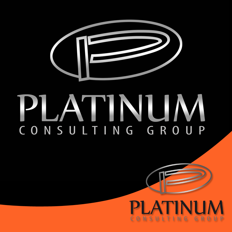 Logo Design by Private User - Entry No. 11 in the Logo Design Contest Captivating Logo Design for Platinum Consulting Group.