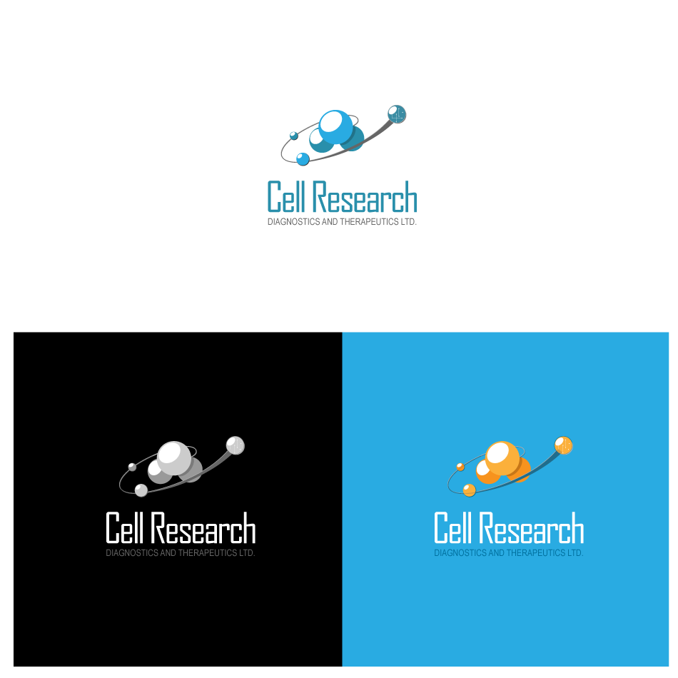 Logo Design by GraySource - Entry No. 26 in the Logo Design Contest Cell Research, Diagnostics & Therapeutics Ltd (RxDxTx).