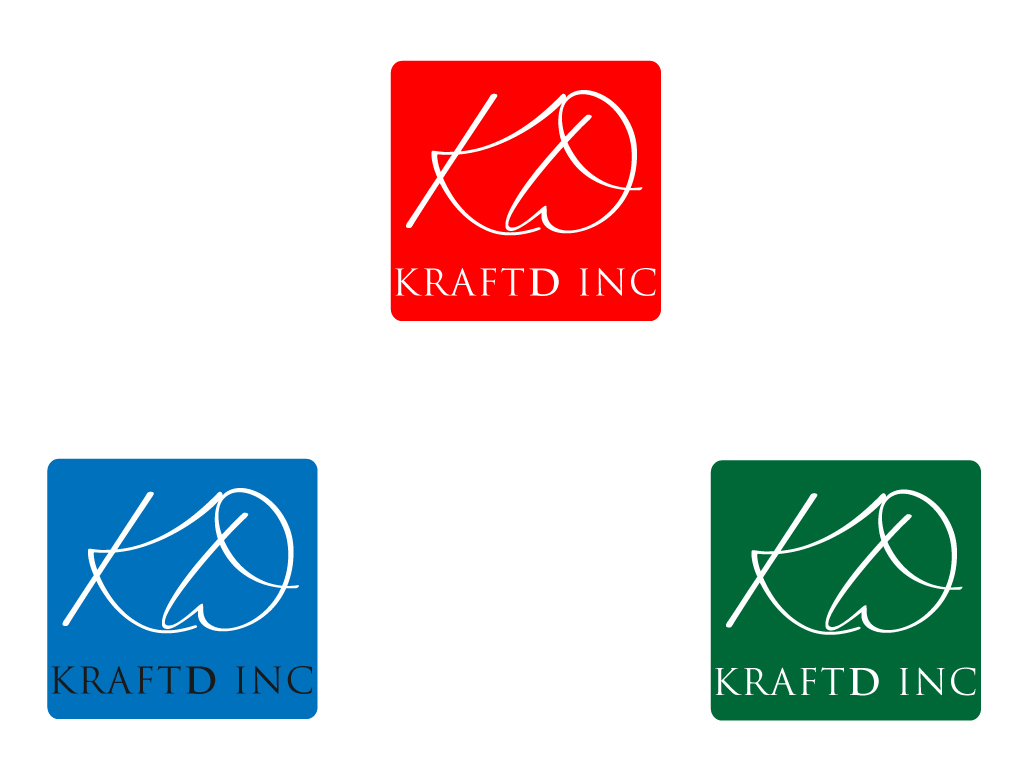Logo Design by Jagdeep Singh - Entry No. 154 in the Logo Design Contest Unique Logo Design Wanted for Kraft D Inc.
