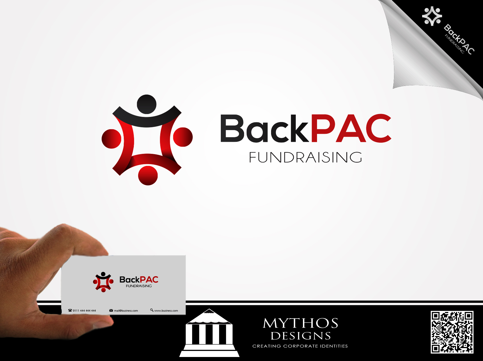 Logo Design by Mythos Designs - Entry No. 50 in the Logo Design Contest Imaginative Logo Design for BackPAC Fundraising.
