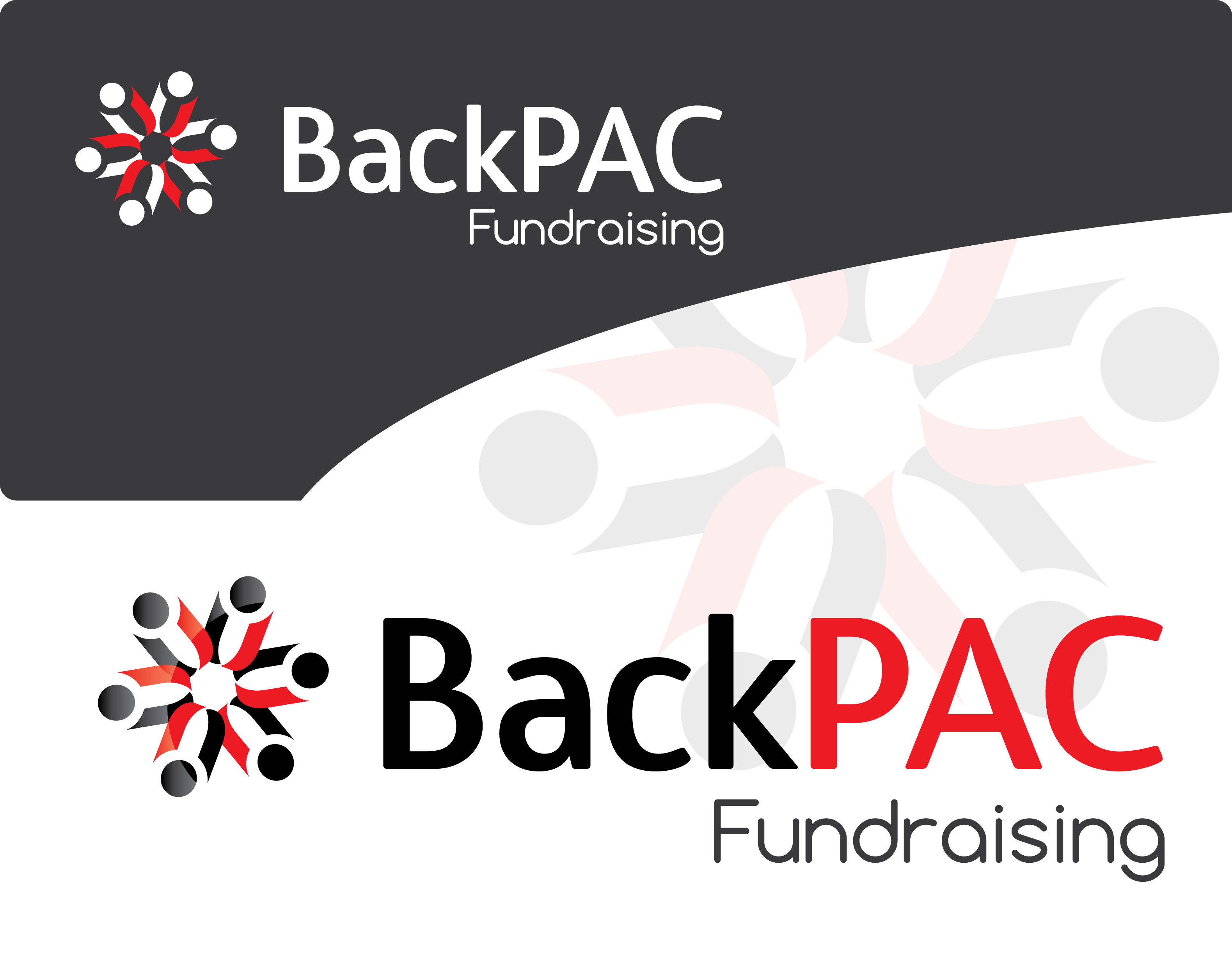Logo Design by 354studio - Entry No. 52 in the Logo Design Contest Imaginative Logo Design for BackPAC Fundraising.
