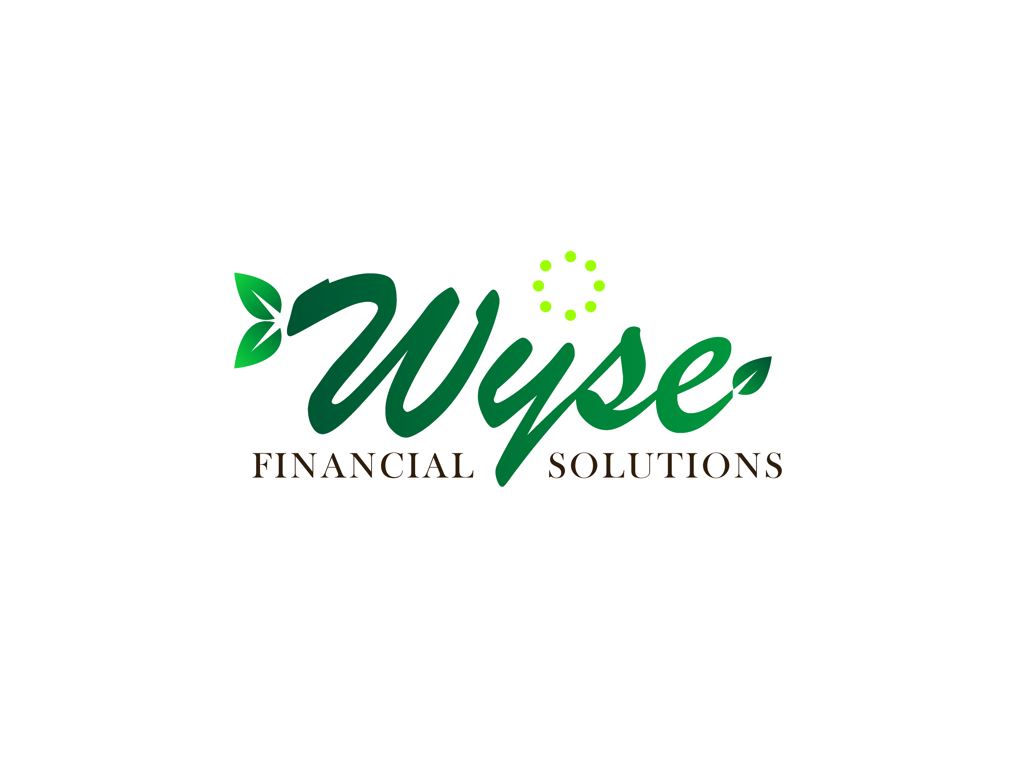 Logo Design by Private User - Entry No. 54 in the Logo Design Contest Fun Logo Design for Wyse Financial Solutions.