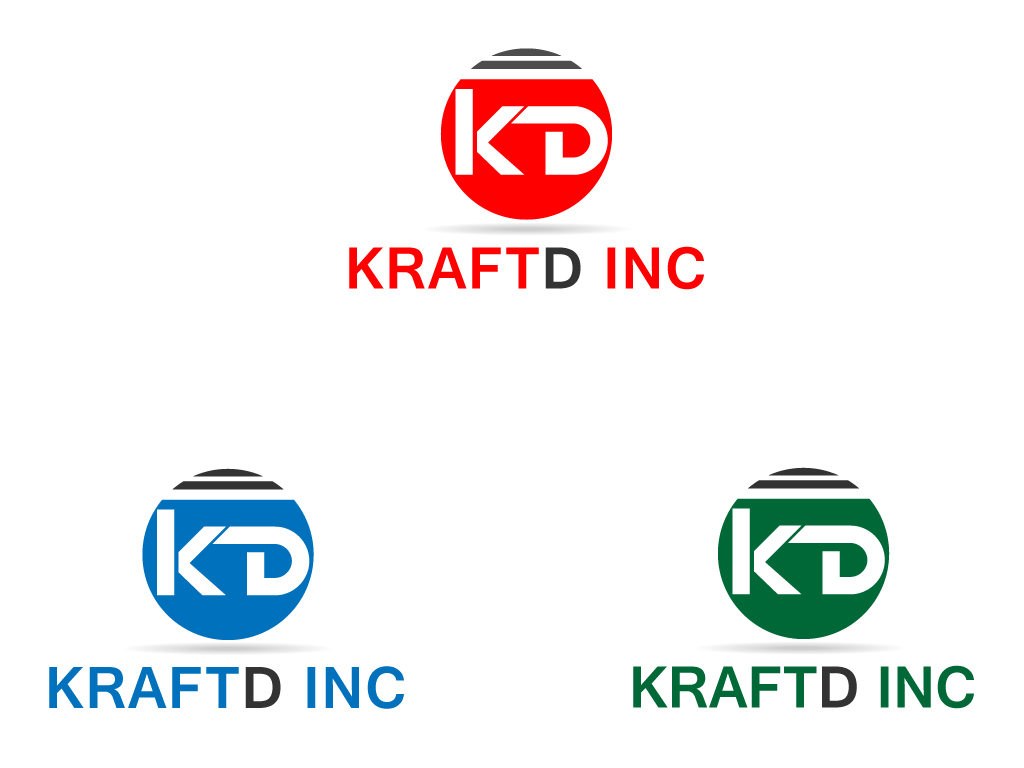 Logo Design by Jagdeep Singh - Entry No. 155 in the Logo Design Contest Unique Logo Design Wanted for Kraft D Inc.