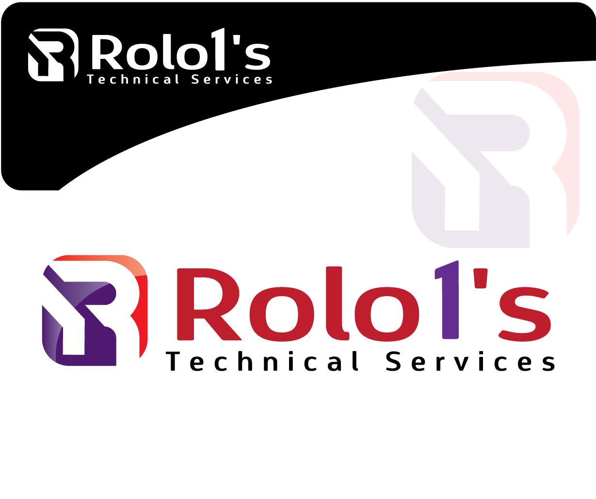 Logo Design by 354studio - Entry No. 54 in the Logo Design Contest Inspiring Logo Design for Rolo1's Technical Services.