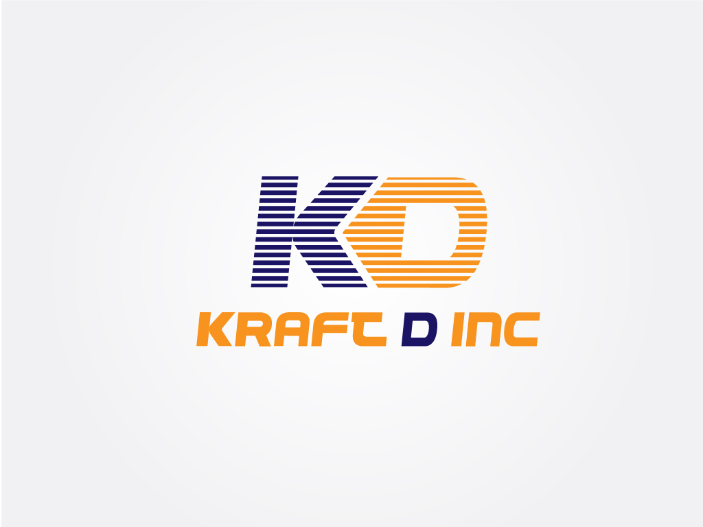 Logo Design by Jagdeep Singh - Entry No. 158 in the Logo Design Contest Unique Logo Design Wanted for Kraft D Inc.