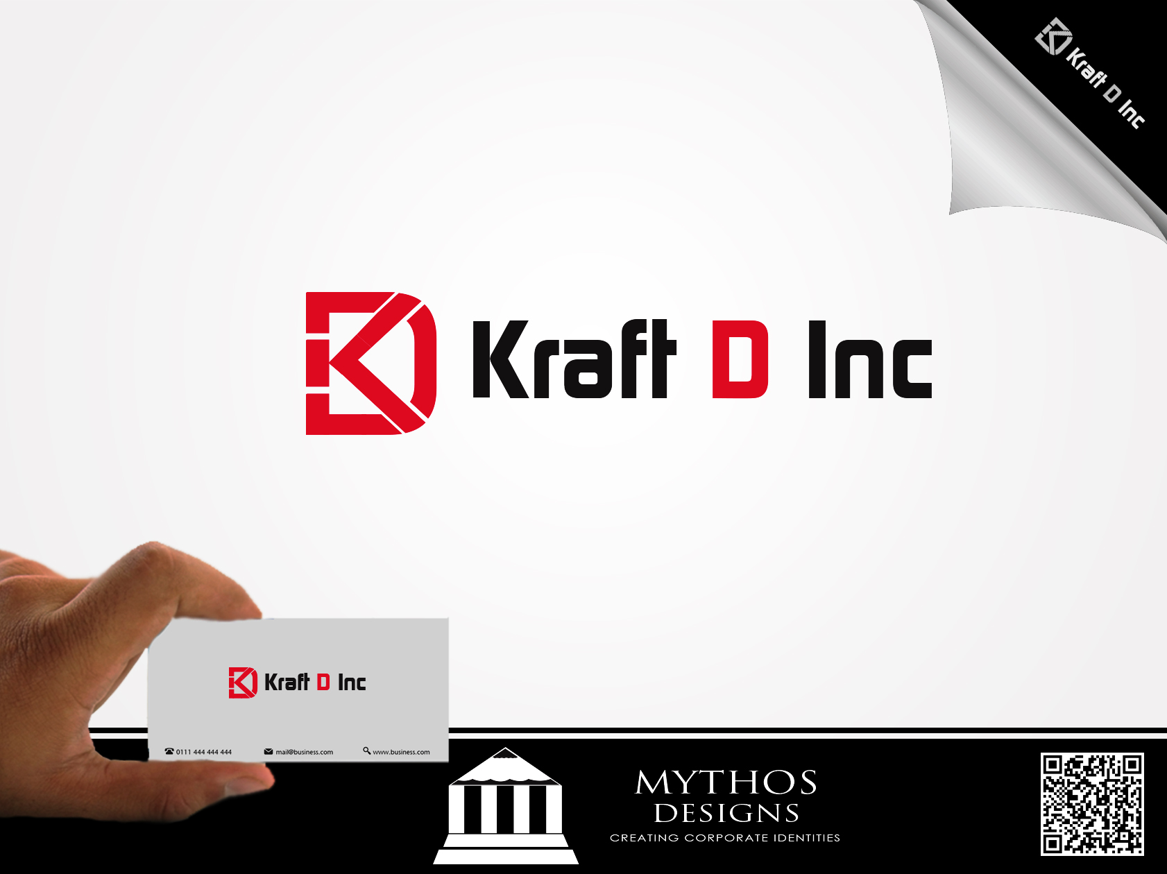 Logo Design by Mythos Designs - Entry No. 162 in the Logo Design Contest Unique Logo Design Wanted for Kraft D Inc.