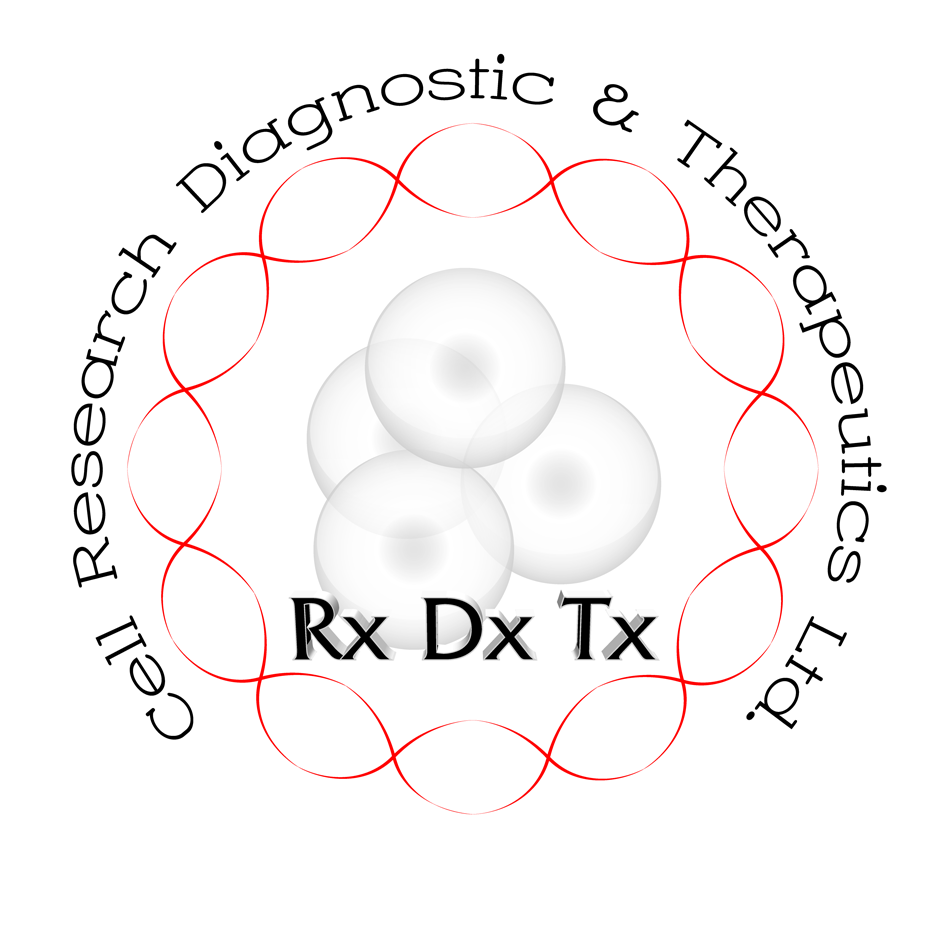 Logo Design by Benedict Estanislao - Entry No. 29 in the Logo Design Contest Cell Research, Diagnostics & Therapeutics Ltd (RxDxTx).