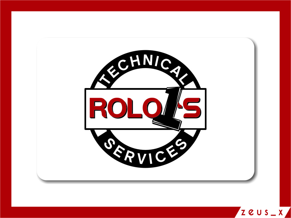 Logo Design by RasYa Muhammad Athaya - Entry No. 57 in the Logo Design Contest Inspiring Logo Design for Rolo1's Technical Services.