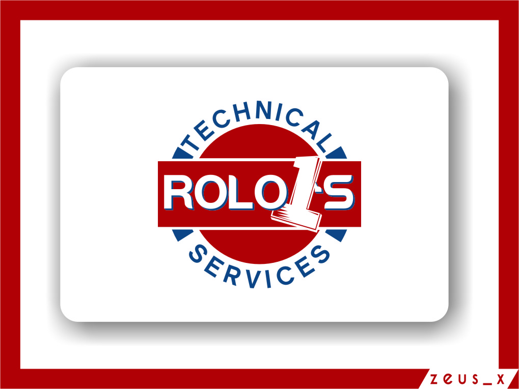 Logo Design by RasYa Muhammad Athaya - Entry No. 58 in the Logo Design Contest Inspiring Logo Design for Rolo1's Technical Services.
