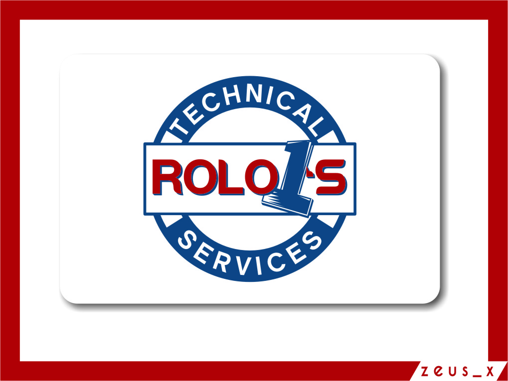 Logo Design by Ngepet_art - Entry No. 59 in the Logo Design Contest Inspiring Logo Design for Rolo1's Technical Services.