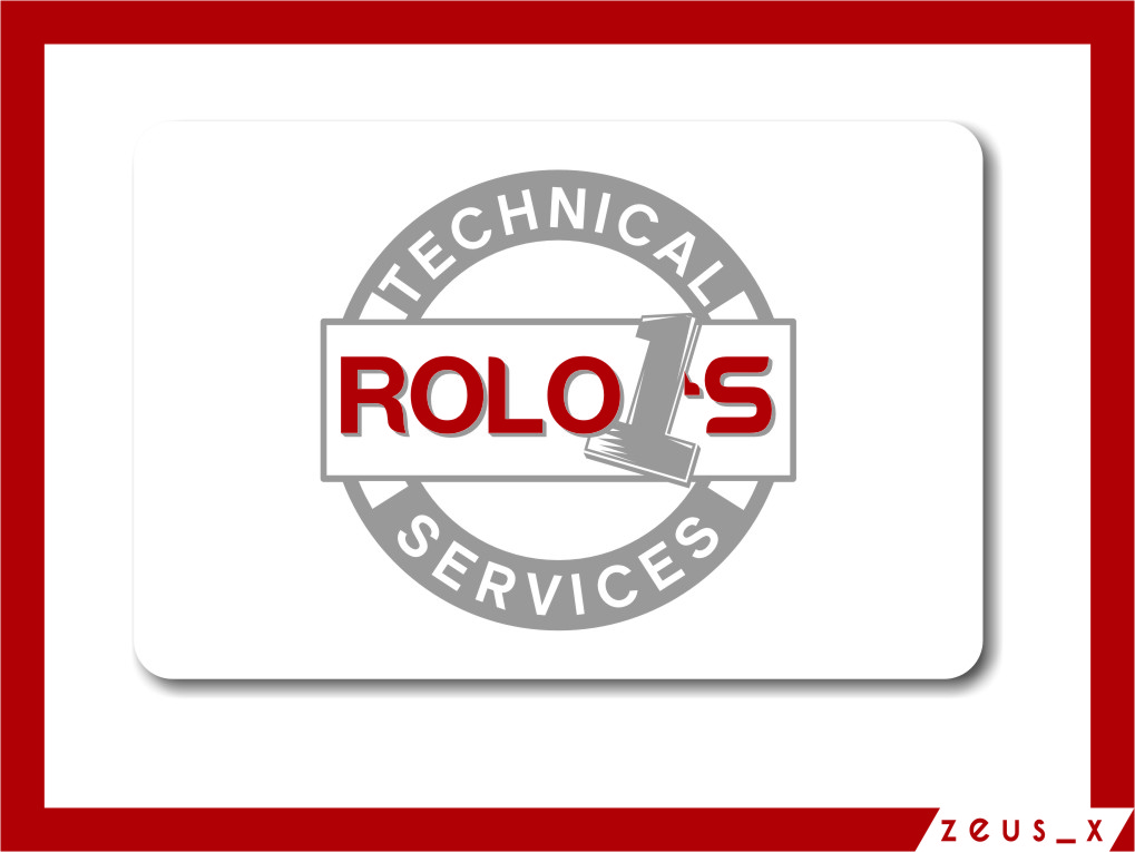 Logo Design by RasYa Muhammad Athaya - Entry No. 60 in the Logo Design Contest Inspiring Logo Design for Rolo1's Technical Services.