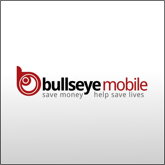 Logo Design by jekson - Entry No. 176 in the Logo Design Contest Bullseye Mobile.