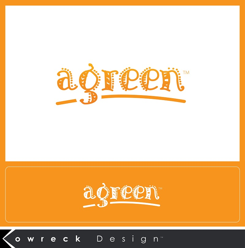 Logo Design by kowreck - Entry No. 31 in the Logo Design Contest Inspiring Logo Design for Agreen.