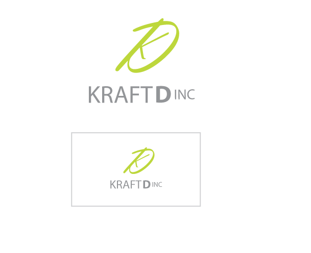 Logo Design by Private User - Entry No. 164 in the Logo Design Contest Unique Logo Design Wanted for Kraft D Inc.