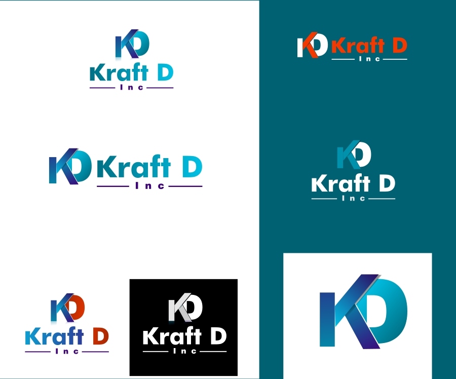 Logo Design by Private User - Entry No. 165 in the Logo Design Contest Unique Logo Design Wanted for Kraft D Inc.