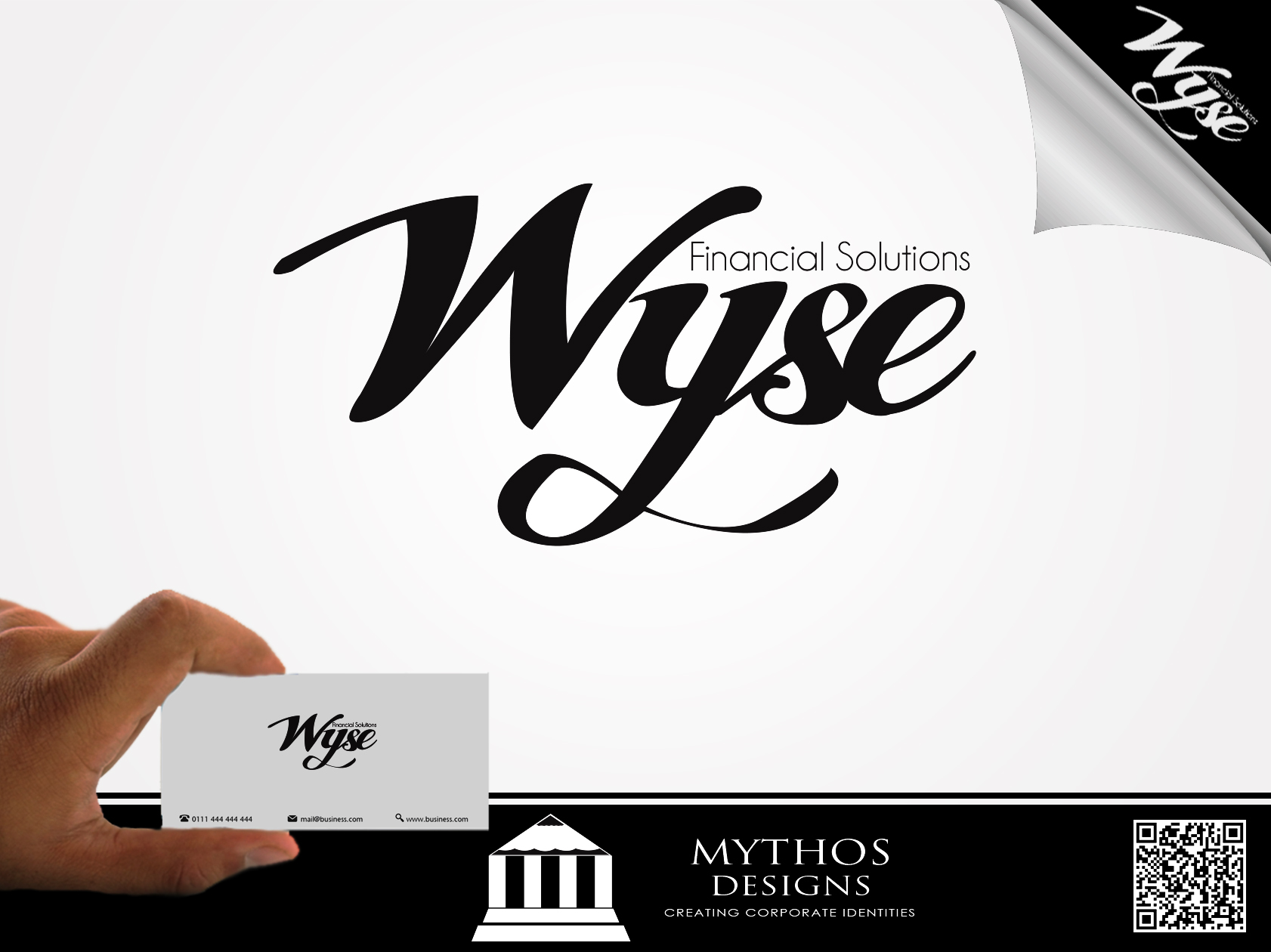 Logo Design by Mythos Designs - Entry No. 58 in the Logo Design Contest Fun Logo Design for Wyse Financial Solutions.