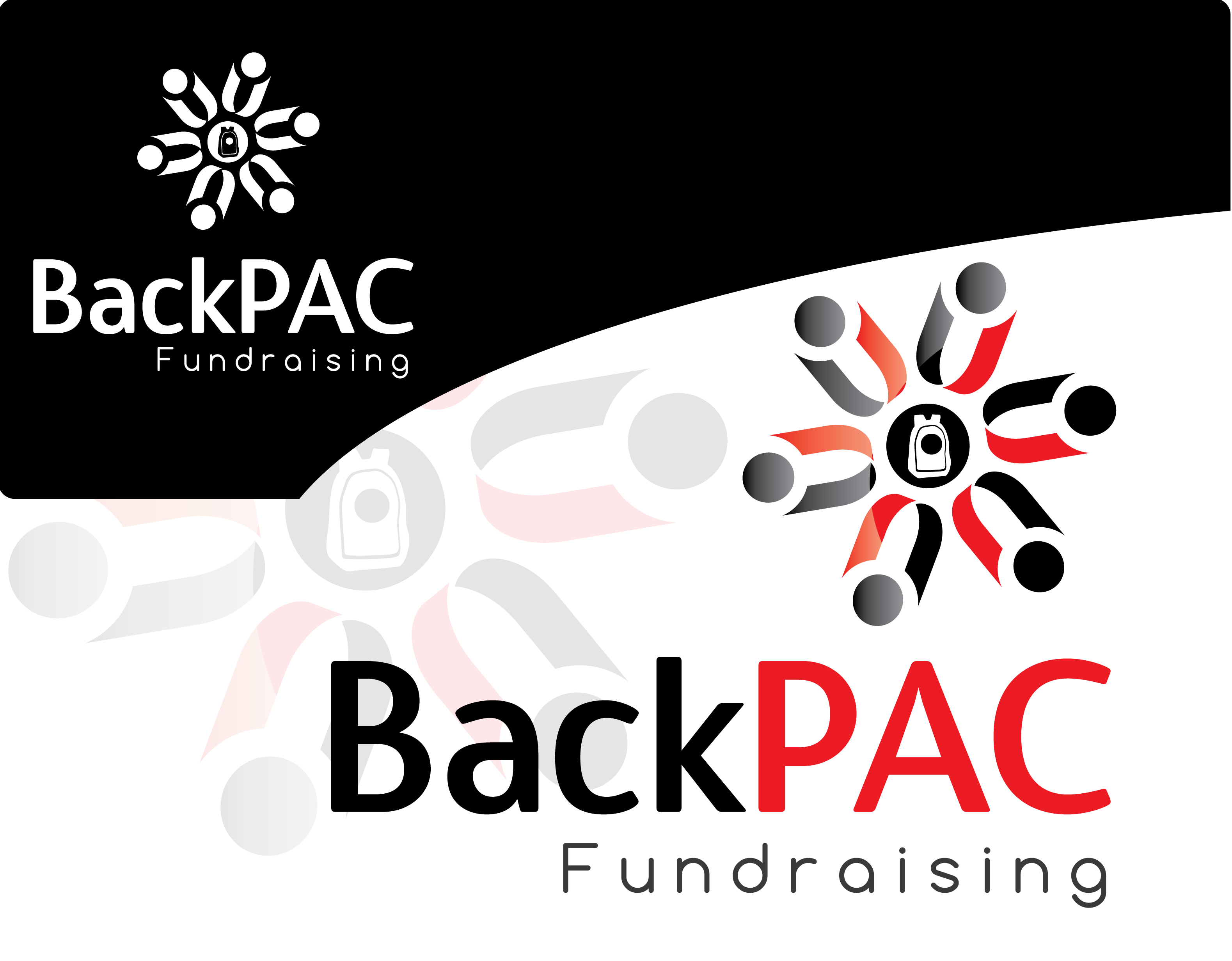 Logo Design by 354studio - Entry No. 78 in the Logo Design Contest Imaginative Logo Design for BackPAC Fundraising.
