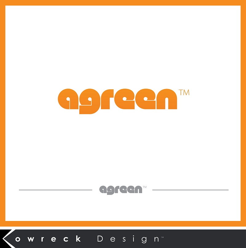Logo Design by kowreck - Entry No. 33 in the Logo Design Contest Inspiring Logo Design for Agreen.