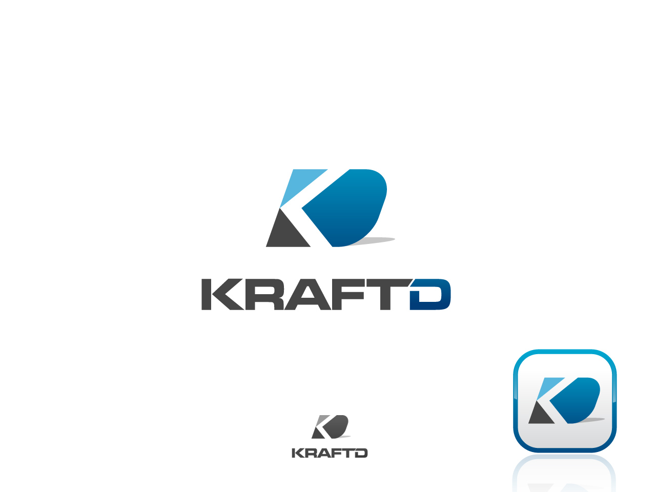 Logo Design by jpbituin - Entry No. 169 in the Logo Design Contest Unique Logo Design Wanted for Kraft D Inc.