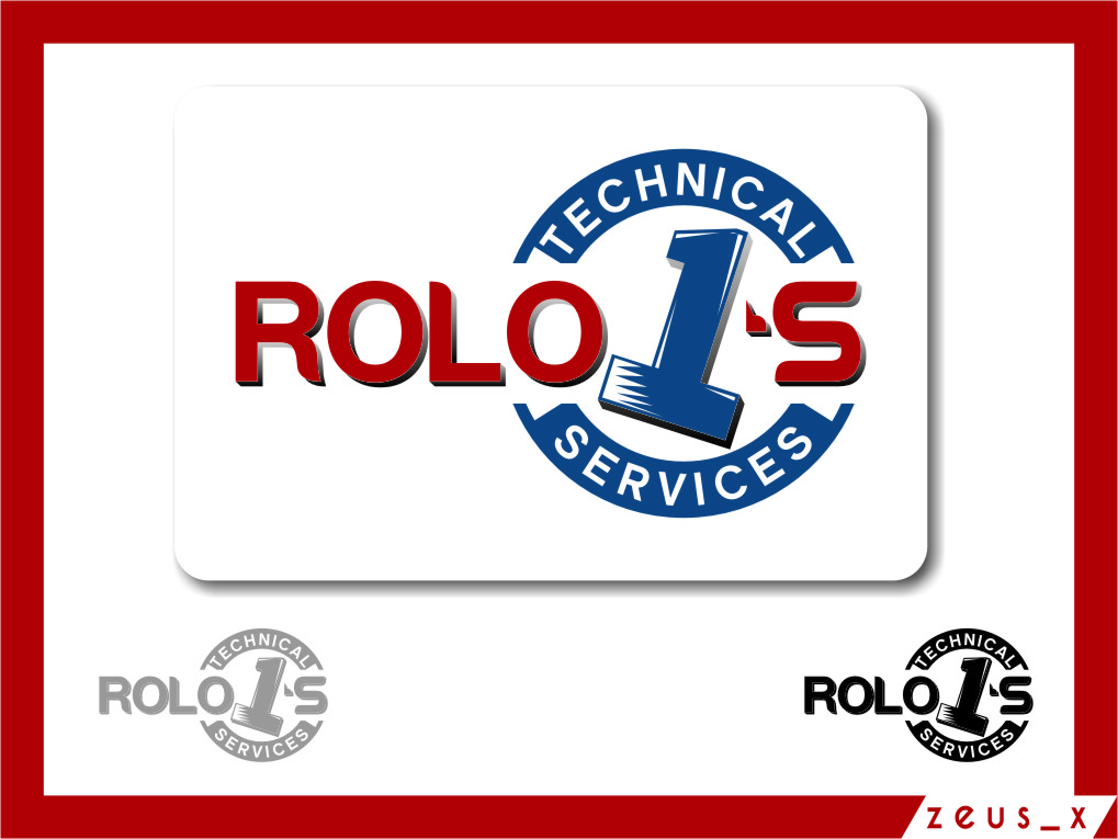 Logo Design by RasYa Muhammad Athaya - Entry No. 72 in the Logo Design Contest Inspiring Logo Design for Rolo1's Technical Services.