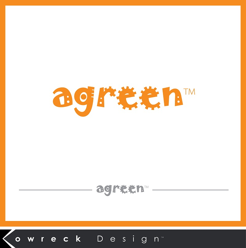 Logo Design by kowreck - Entry No. 34 in the Logo Design Contest Inspiring Logo Design for Agreen.