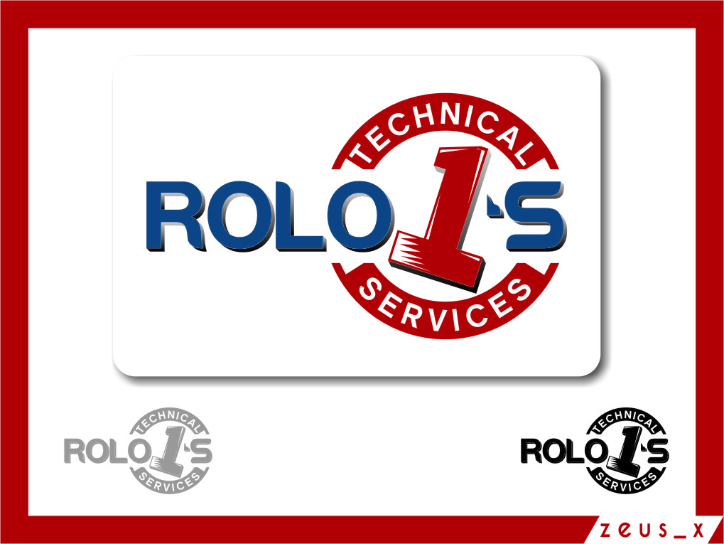 Logo Design by RasYa Muhammad Athaya - Entry No. 73 in the Logo Design Contest Inspiring Logo Design for Rolo1's Technical Services.