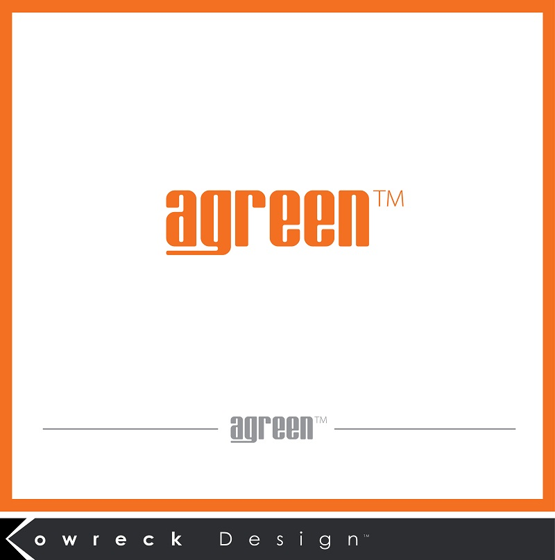Logo Design by kowreck - Entry No. 35 in the Logo Design Contest Inspiring Logo Design for Agreen.
