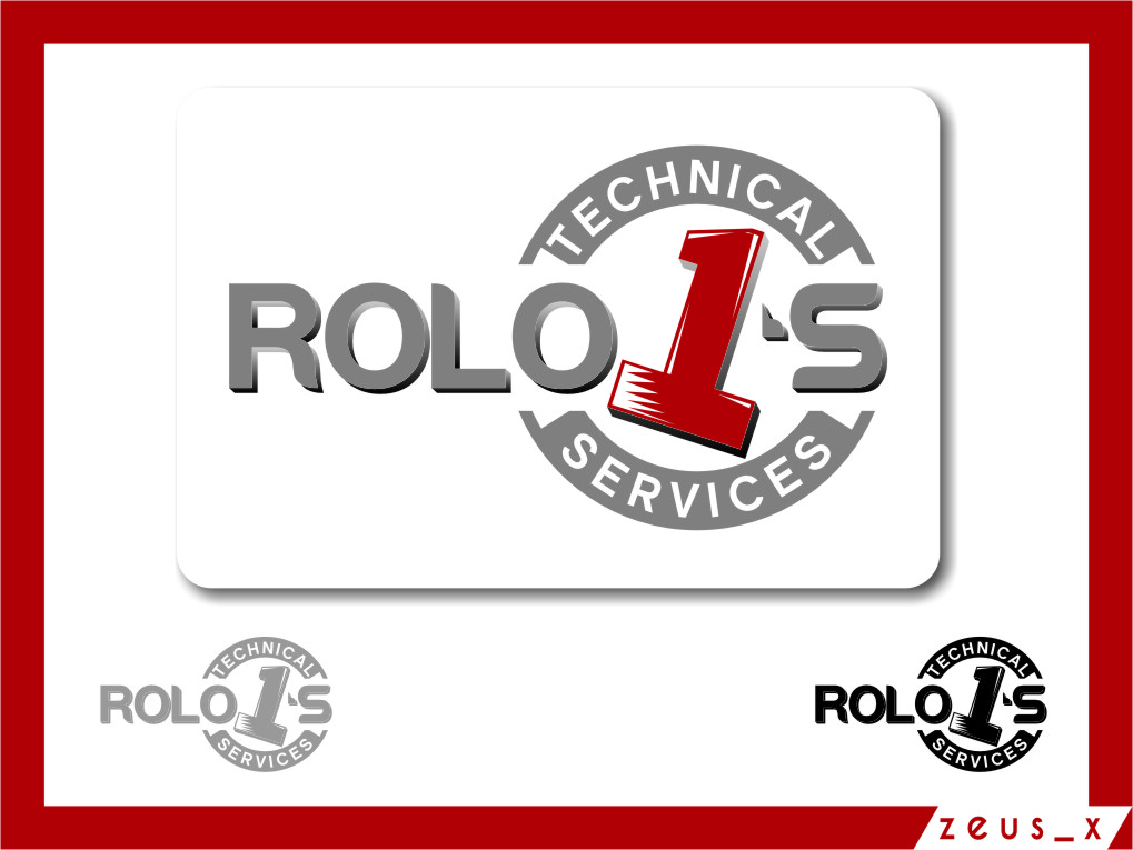 Logo Design by Ngepet_art - Entry No. 74 in the Logo Design Contest Inspiring Logo Design for Rolo1's Technical Services.