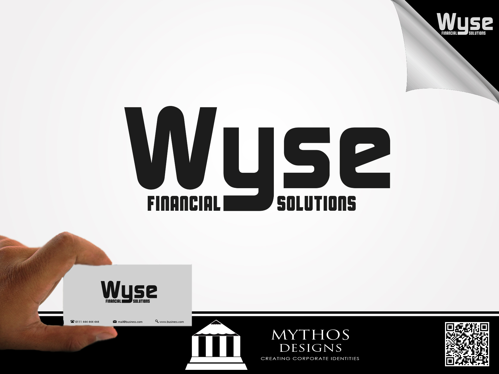 Logo Design by Mythos Designs - Entry No. 60 in the Logo Design Contest Fun Logo Design for Wyse Financial Solutions.