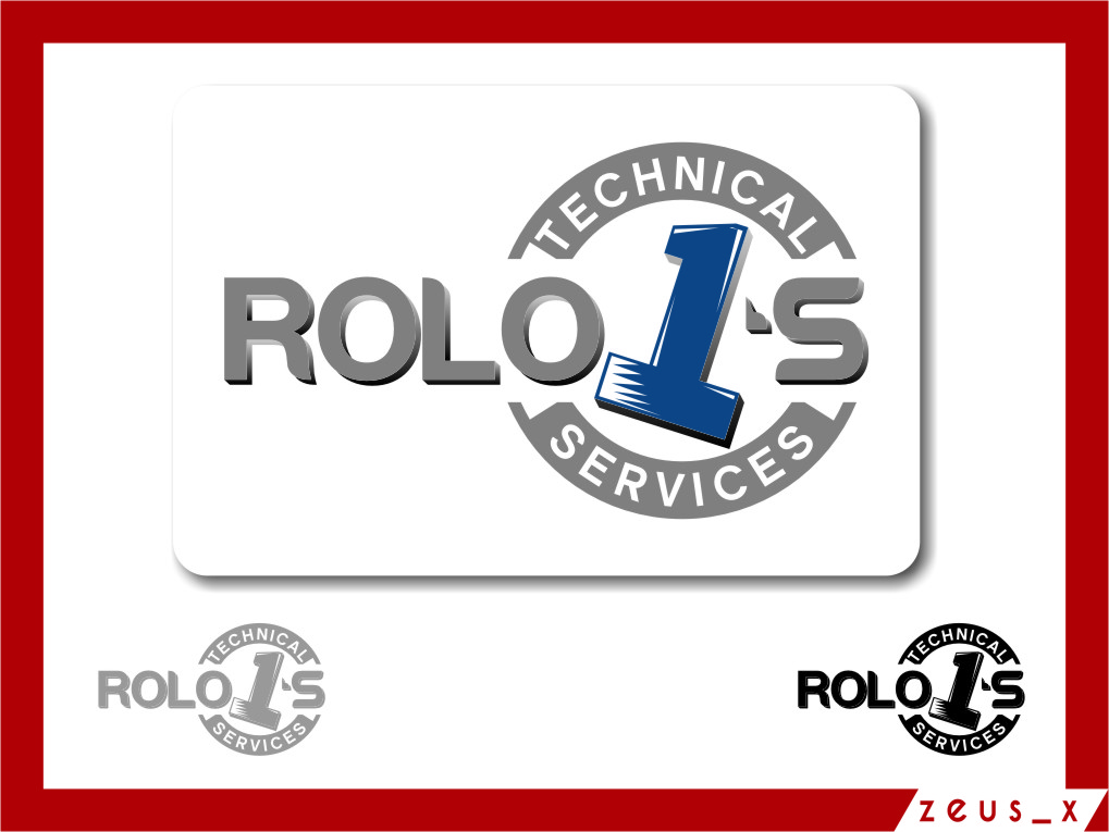 Logo Design by RoSyid Rono-Rene On Java - Entry No. 75 in the Logo Design Contest Inspiring Logo Design for Rolo1's Technical Services.