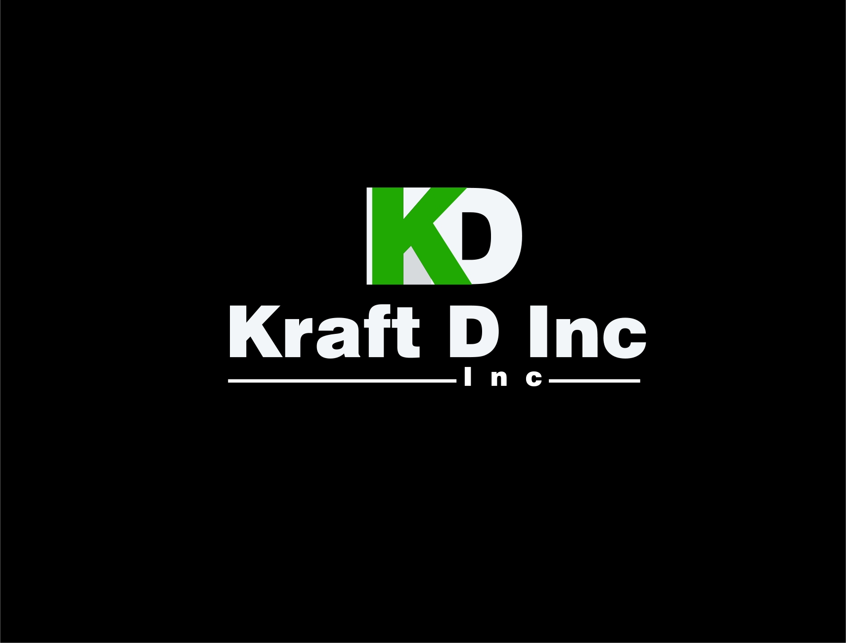 Logo Design by Private User - Entry No. 171 in the Logo Design Contest Unique Logo Design Wanted for Kraft D Inc.