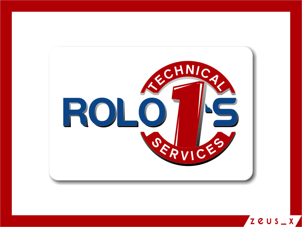 Logo Design by RasYa Muhammad Athaya - Entry No. 76 in the Logo Design Contest Inspiring Logo Design for Rolo1's Technical Services.