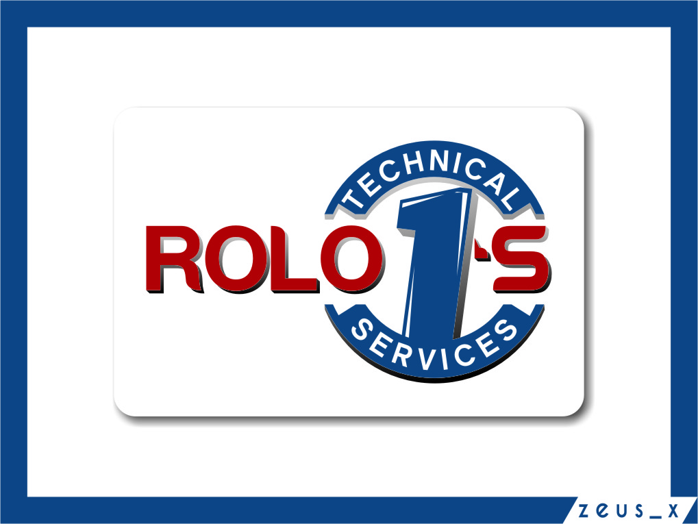 Logo Design by Ngepet_art - Entry No. 77 in the Logo Design Contest Inspiring Logo Design for Rolo1's Technical Services.