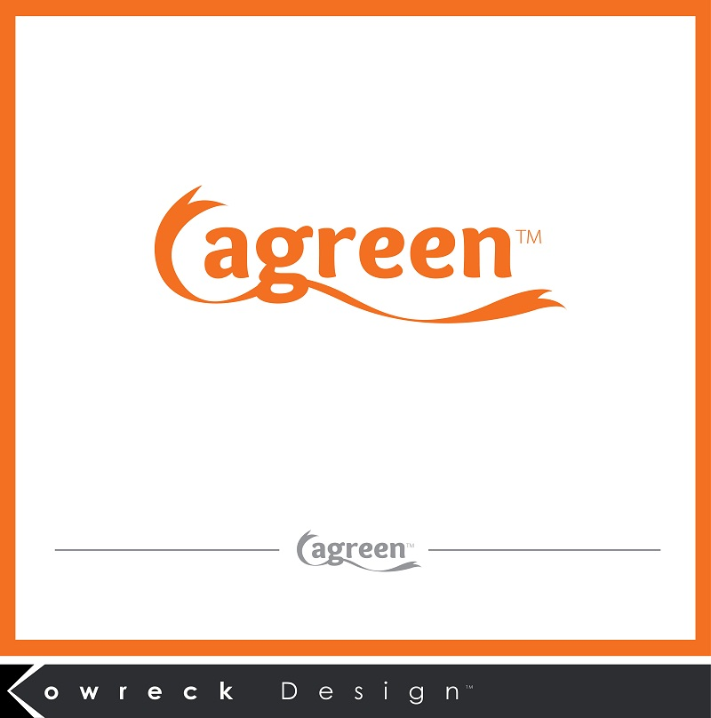 Logo Design by kowreck - Entry No. 36 in the Logo Design Contest Inspiring Logo Design for Agreen.