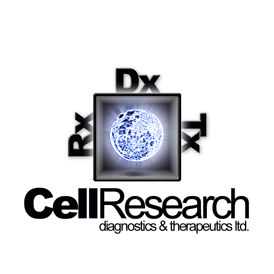 Logo Design by lapakera - Entry No. 32 in the Logo Design Contest Cell Research, Diagnostics & Therapeutics Ltd (RxDxTx).