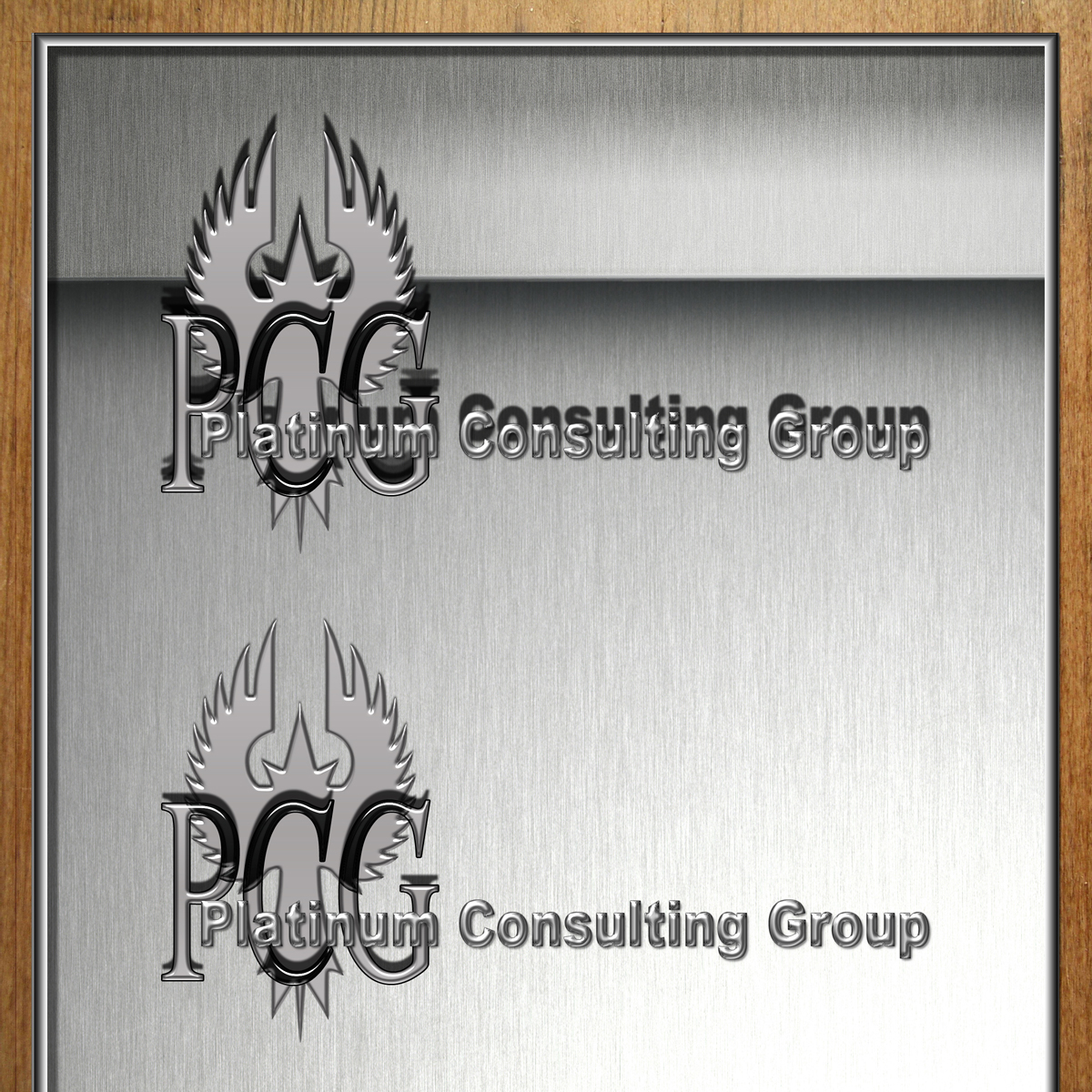 Logo Design by MITUCA ANDREI - Entry No. 12 in the Logo Design Contest Captivating Logo Design for Platinum Consulting Group.