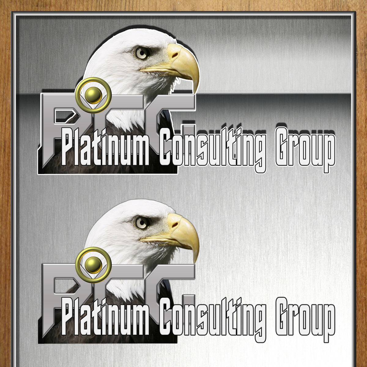Logo Design by MITUCA ANDREI - Entry No. 16 in the Logo Design Contest Captivating Logo Design for Platinum Consulting Group.