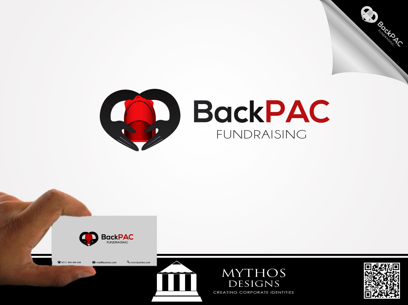 Logo Design by Mythos Designs - Entry No. 89 in the Logo Design Contest Imaginative Logo Design for BackPAC Fundraising.