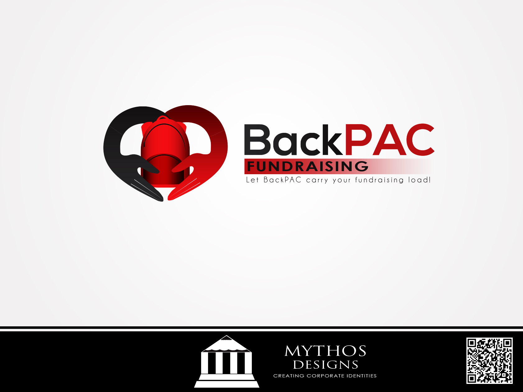 Logo Design by Mythos Designs - Entry No. 91 in the Logo Design Contest Imaginative Logo Design for BackPAC Fundraising.
