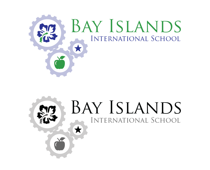 Logo Design by Christina Evans - Entry No. 7 in the Logo Design Contest Creative Logo Design for Bay Islands International School.